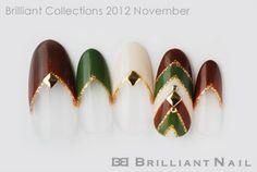 ブリコレ2012年11月号秋・冬カラーで大人かわいい♪流行柄ネイル特集03