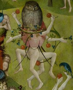 Hieronymus Bosch, Garden of Earthly Delights, central panel detail
