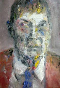 cm, oil on canvas Oil On Canvas, Portraits, Painting, Art, Art Background, Head Shots, Painting Art, Kunst, Paintings
