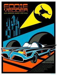 Eddie Vedder poster by Artillery