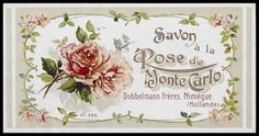 vintage perfume label from Holland Decoupage Vintage, Vintage Diy, Images Vintage, Vintage Tags, Vintage Labels, Vintage Ephemera, Vintage Paper, Vintage Flowers, Vintage Postcards