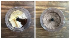 смешать масло с сухими ингредиентами Christmas Cookies, Acai Bowl, Latte, Oatmeal, Breakfast, Desserts, Food, Xmas Cookies, Acai Berry Bowl