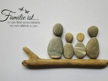 Stone Crafts, Stone Art, Rock Art, Picture Frames, Place Card Holders, Joy, Deco, Pictures, Rocks