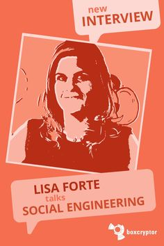 Boxcryptor interviewed Lisa Forte, founder of Red Goat Cyber Security and winner of the Top 100 Women In Tech Award, on the issues of pen testing, war gaming, social engineering and diversity in the tech industry. Cyber Crime Unit, Web Security, Keynote Speakers, Goat, Interview, Lisa, Things To Think About, Engineering, Tech