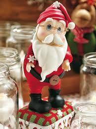 Resultado de imagen para figuras navideñas en porcelana en frio