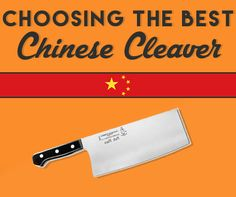 (You want at least one good Chinese cleaver!- E.J.)  What's a chinese chef knife used for? Read our guide on chinese cleavers, and see the best. Understand the benefits and usages of this type of knife.