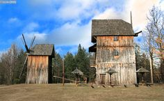 wiatraki w polsce - Radom Windmill, Cabin, House Styles, Home, Decor, Decoration, Cabins, Ad Home, Cottage