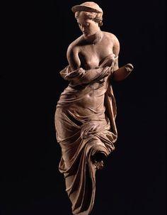 Etruscan terracotta figurine of Turan C.150BC
