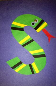 Preschool Letter S Craft