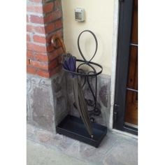 Wrought Iron Umbrella Stand. Customize Realizations. 1027 Wrought Iron, Candle Sconces, Wall Lights, Accessories, Home Decor, Home, Appliques, Decoration Home, Room Decor