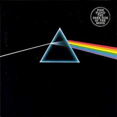 Pink Floyd — Dark Side of the Moon  Released on EMI in 1973. Cover art by Hipgnosis Designs