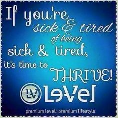 Let me help YOU with all day energy, better sleep, relief from aches and discomforts and digestive support today!!  Create a free account here to learn more about Thrive by Le-Vel @ http://thrive_jonnell.le-vel.com/