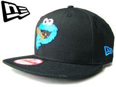 【ニューエラ】【NEW ERA】9FIFTY セサミストリートコラボ! クッキーモンスター ブラック スナップバック【CAP】【newera】【snap back】【帽子】【sesami street】【cookie monster】【黒】【BLACK】【キャップ】【キャラクター】【あす楽】【楽天市場】
