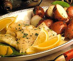 Broiled Scrod with Lemon Butter Seasoning fish with butter and lemon is one of the simplest and best-tasting preparations for fish. Scrod are young cod. If not available, cod will work just as well.