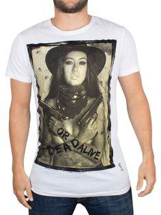 Religion White Dead Or Alive Graphic T-Shirt in Vêtements, accessoires, Hommes: vêtements, T-shirts | eBay