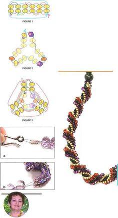 Twisted Tubular Herringbone ~ Seed Bead Tutorials