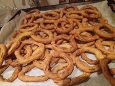 Κριτσινια καροτου Onion Rings, My Recipes, Food And Drink, Cookies, Ethnic Recipes, Sweet, Master Chef, Crack Crackers, Candy