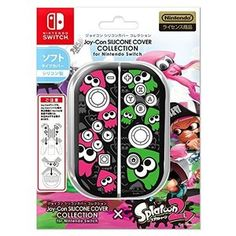 Joy-Con Hard Cover for Nintendo Switch - Splatoon 2 Edition Type B [Switch] Nintendo Switch Splatoon 2, Buy Nintendo Switch, Nintendo Switch System, Nintendo Console, Nintendo Switch Accessories, Cute Gif, Video Game Console, Playstation, Cool Things To Buy