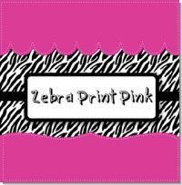 This theme is for if you're having a baby shower and the mom-to-be loves zebra print. You can customize it to say whatever you want it to as well. :)
