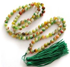 8mm 108 Multiple Color Jade Stone Beads Buddhist « Holiday Adds