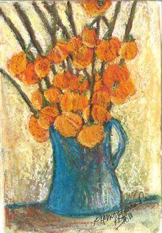 "Saatchi Art Artist Sherry Harradence; Painting, ""The Blue Jug"" #art"