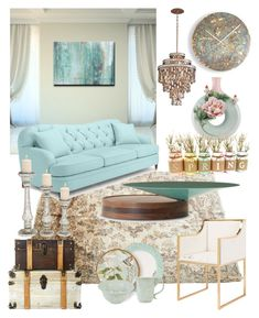 """""""DREAMS ARE FREE....."""" by kskafida ❤ liked on Polyvore featuring interior, interiors, interior design, home, home decor, interior decorating, Ready2hangart, Kate Spade, Corbett Lighting and Worlds Away"""