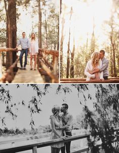 Love these engagement shots.