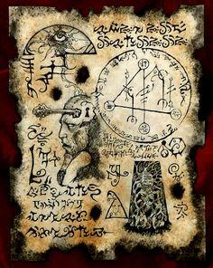 CLAVE de larp de YOG SOTHOTH cthulhu Necronomicón fragmento oculta magia