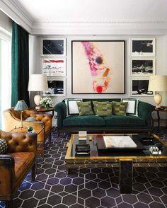 oturma odasinda maskulen fikirler erkekler icin oturma odasi dekorasyon ornekleri siyah kahve lacivert mavi gri bej beyaz (11)