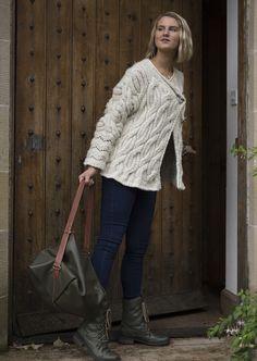 Angel Jacket : Hand knitted in Scotland : British Breeds Wool