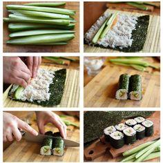 Maki Sushi selber machen: Schritt für Schritt