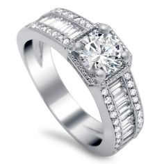 Diamond Engagement Ring by Timeless Designs! Available at Houston Jewelry!   www.houstonjewelry.com