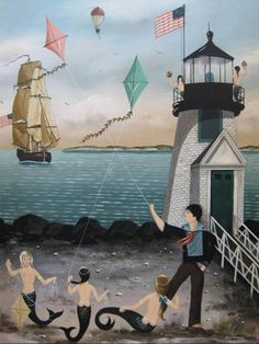 The Cahoon Museum of American Art, on Cape Cod, has wonderful works by Ralph and Martha Cahoon.  http://cahoonmuseum.org/