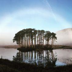 Mist Rainbow over the Loch, Lochailort, Scotland