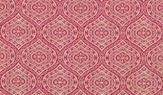 John Robshaw Duralee dark pink block print pattern