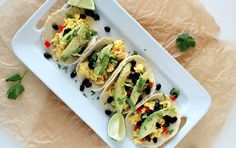 Southwestern Breakfast Tacos | Recipe