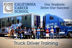 http://www.californiacareerschool.edu/training-programs/truck-driver - If you are looking to change careers, truck driving may be an option for you!