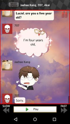 Lol mystic messenger seven being seven funny Mystic Messenger Comic, Mystic Messenger Characters, Lol, Messenger Games, Saeran, K Idol, Funny Games, Marry Me, Funny Pictures