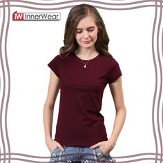 Women Solid color Tees Plain Cotton short sleeve T-shirt Female Tops......................................................  Price : $13.60