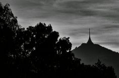 #ještěd #watchtower #nature #sky #night #modern #building #tree #photography #photoshop #nikcollection #vsco #vscocam #hdr