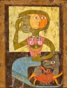 Victor Brauner - Cup of Doubt / Coupe du doute - 1946 - http://www.wikipaintings.org/en/victor-brauner/coup-of-doubt-1946#close