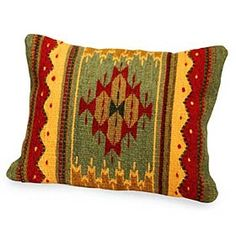 ZAPOTEC BUTTERFLY PILLOW