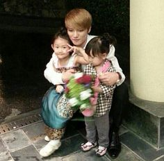 Jaejoong and his family