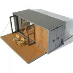 ALL TERRAIN CABIN TINY SHIPPING CONTAINER
