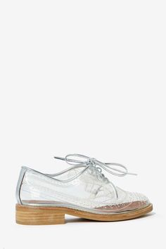 Jeffrey Campbell Townsend Transparent Oxford - Shoes | Oxfords | Jeffrey Campbell
