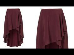 falda capa o media capa