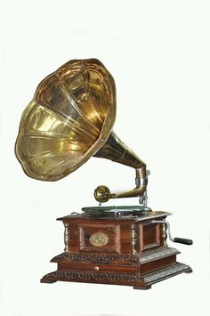 original vintage quality 80s antique old machine HMV gramophone phonograph HB 09
