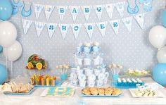 Decoraciones de mesa para baby shower: Ideas para inspirarte