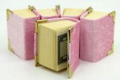 Kadife Kaplı Mini Kuranı Kerim Bebek Şekeri Süsleme Malzemesi Pembe 10 Adet