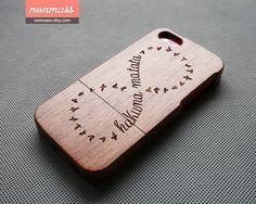 Hakuna matata iPhone 5c case -Wood iPhone 5c case